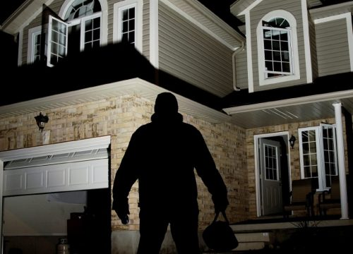 Casos de robo en tu hogar.